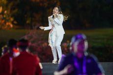 Presiden Jokowi Terlihat Berjoget Saat Via Vallen Nyanyi Meraih Bintang di Asian Games 2018