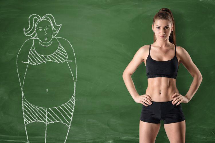 Ilustrasi lemak tubuh