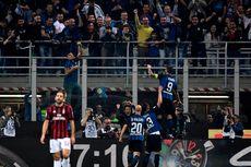 Hasil Liga Italia, Inter Jauhi Juventus Setelah Menangi Derbi Milan
