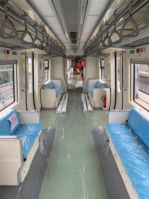 Interior trainset LRT Jabodebek
