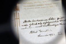 Apa Isi Tulisan Tangan Einstein tentang Hidup Bahagia yang Laku Jutaan Dollar AS?