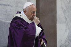 Paus Fransiskus Seka Hidung dan Batuk Saat Beri Dukungan ke Penderita Virus Corona