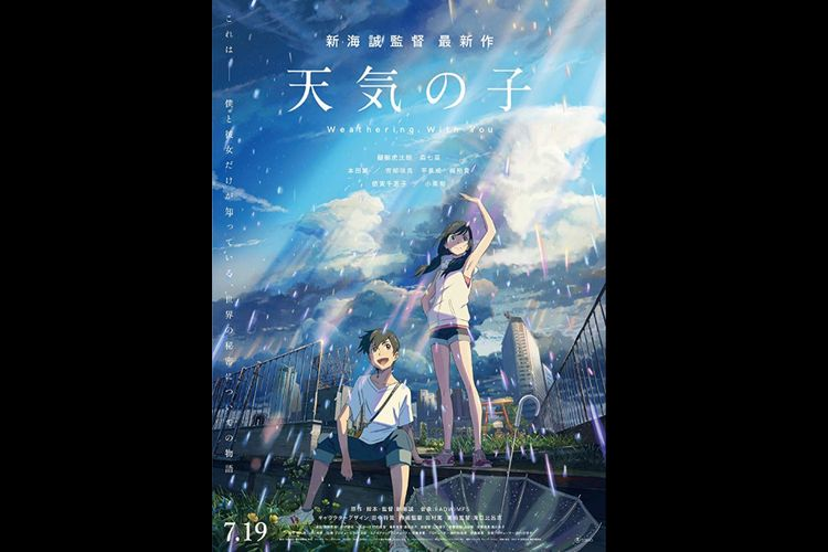 Sinopsis Film Anime Weathering With You Tayang Mulai Hari Ini Di Cgv