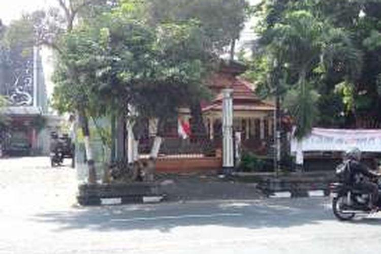 Kondisi Asrama Mahasiswa Papua Kamasan I, Jalan Kusumanegara, Kota Yogyakarta