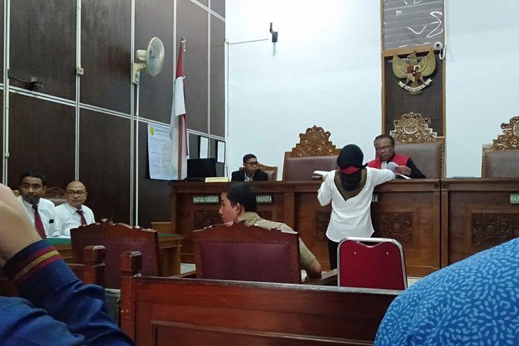 Sidang Tindak Pidana Ringan (Tipiring) PT DGI, Kamis (12/3/2020).