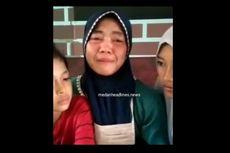 Tangis Istri Terduga Preman yang Aniaya Pedagang, Minta Bantuan Kapolda: