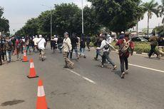 Dibubarkan dan Dikejar Polisi, Massa Simpatisan Rizieq Shihab Kocar-kacir