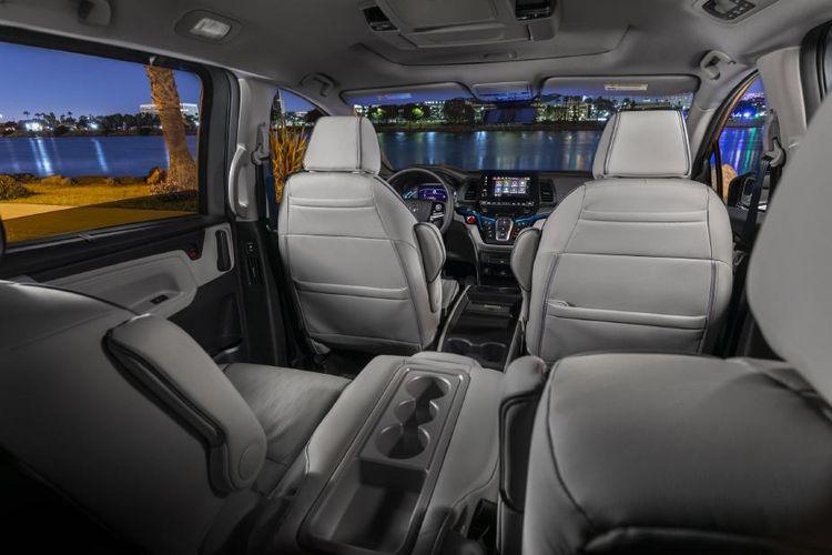 Begini tampilan interior Honda Odyssey USDM facelift