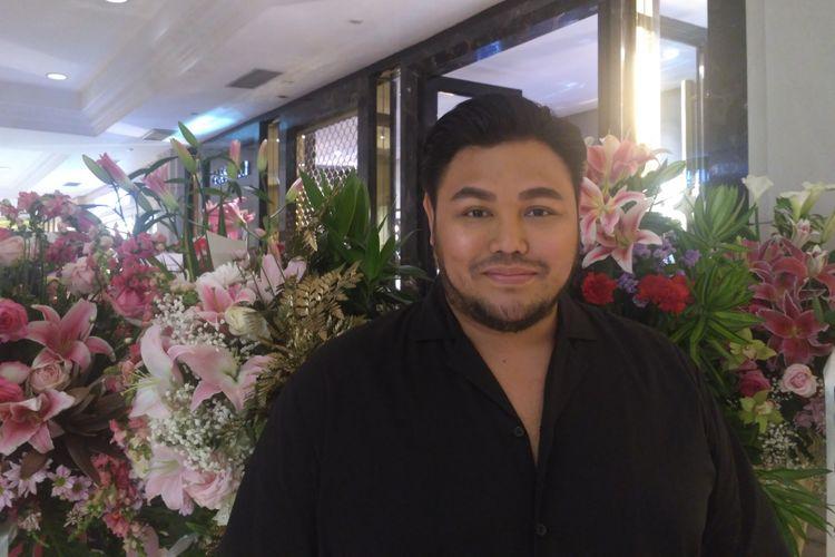 Ivan Gunawan saat ditemui dalam launching salah satu gerai perhiasan premium di Plaza Indonesia, Kebon Kacang, Jakarta Pusat, Selasa (30/10/2018).