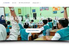 Kemendikbud Sajikan TV Edukasi untuk PAUD hingga SMA, Ini Jadwalnya