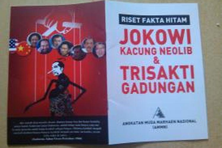 Buku Jokowi kacung neolib beredar di Yogyakarta