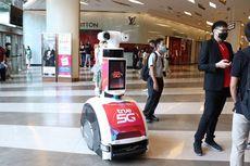 Normal Baru, Robot Patroli Tegur Pengunjung Pusat Perbelanjaan