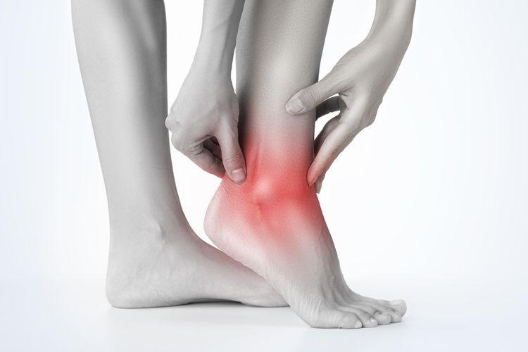 Ilustrasi Nyeri pergelangan kaki