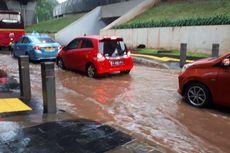 Hujan Deras, Sejumlah Jalan di Jakarta Tergenang Air
