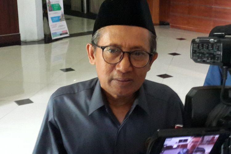 Salah satu pimpinan DPRD Kota Malang, Abdurrochman saat ditemui di gedung DPRD Kota Malang, Senin (3/9/2018)
