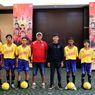 Sambut Piala Dunia U-20, Puluhan Pesepak Bola Cilik Malang Juggling di Hadapan Ahmad Bustomi