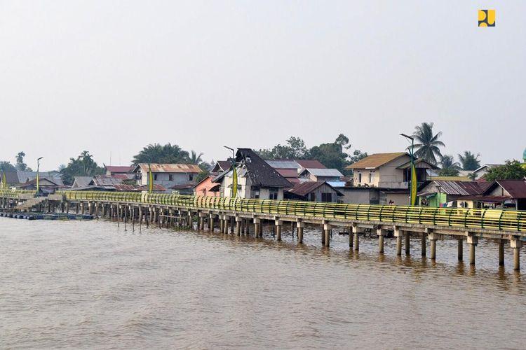 Kampung Beting di Pontianak, Kalimantan Barat