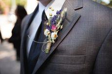 Tren Jas Pengantin Pria di Pesta Pernikahan Normal Baru
