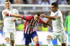 Real Madrid Vs Atletico Madrid, Casemiro Prediksi Laga Akan Sulit