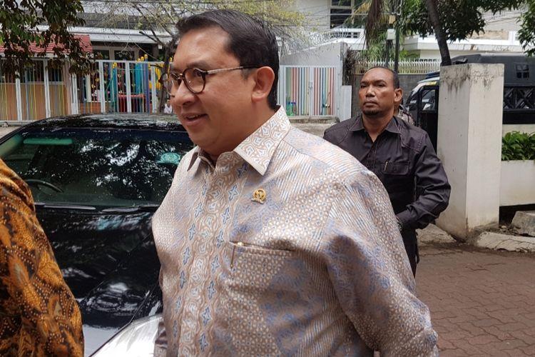 Fadli Zon datang ke Bawaslu DKI Jakarta untuk memenuhi undangan klarifikasi, Senin (18/3/2019)