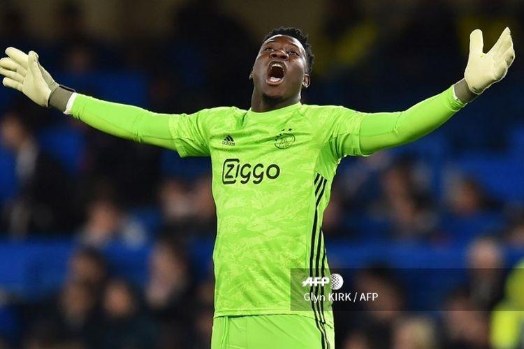 Kiper Ajax Amsterdam, Andre Onana