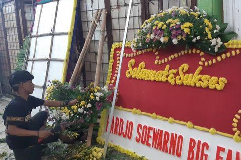 Jelang Pelantikan Presiden, Penjual Bunga di Rawa Belong Mulai Kebanjiran Order
