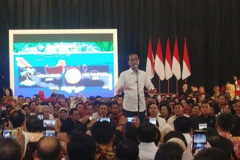 Jokowi Sebut Elektabilitasnya di Jateng Sempat Turun 2 Persen