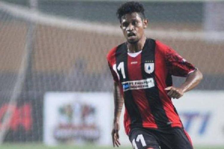 Gelandang Persipura Jayapura, Imanuel Wanggai, bakal melakukan uji coba dengan klub Timor Leste, Carsae FC.