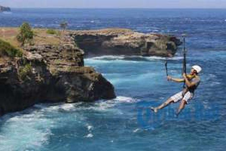 Wow Ini Flying Fox Paling Ekstrem Di Bali Berani Coba
