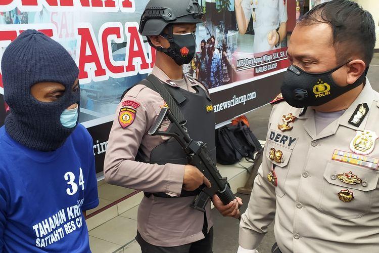 Ungkap kasus ABK yang mengamuk di Mapolres Cilacap, Jawa Tengah, Kamis (7/1/2021).