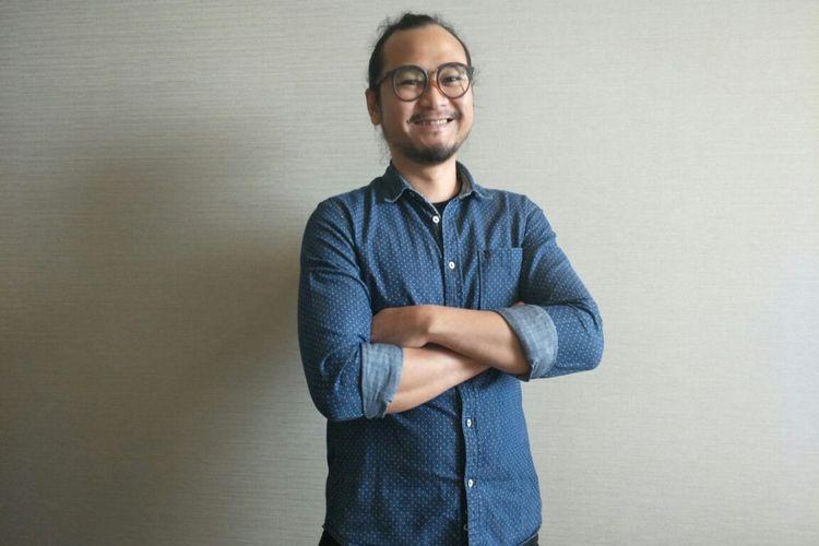 Ronny Gani, salah satu animator Indonesia yang mengerjakan efek visual dan animasi film Avengers: Infinity War, diabadikan setelah wawancara ekslusif dengan Kompas.com di Marina Bay Sands, Singapura, Minggu (15/4/2018).