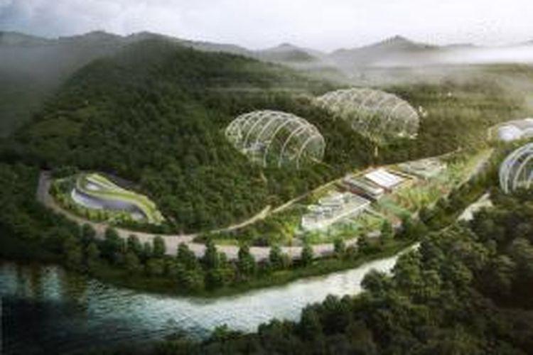 Korea Selatan membangun pusat penelitian hewan dan tanaman langka.