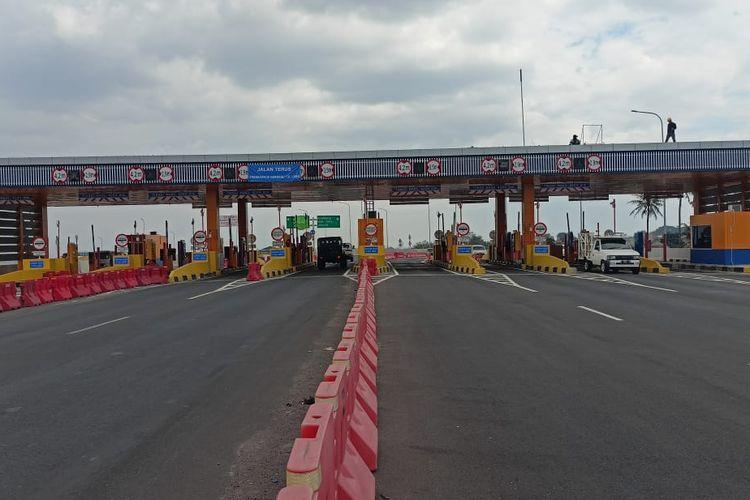 Ilustrasi gerbang Tol CIleunyi