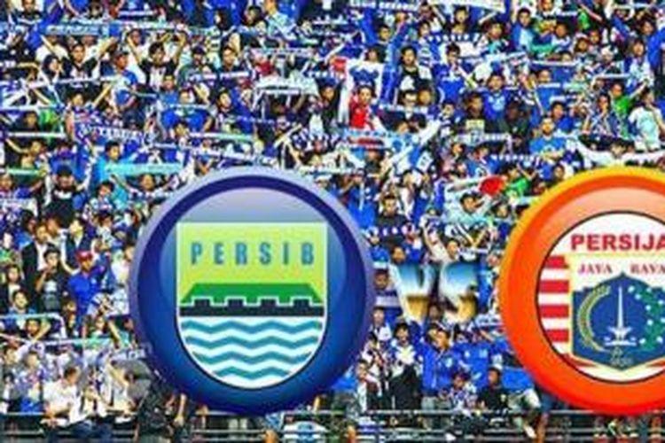 Persib Bandung Vs Persija Jakarta.