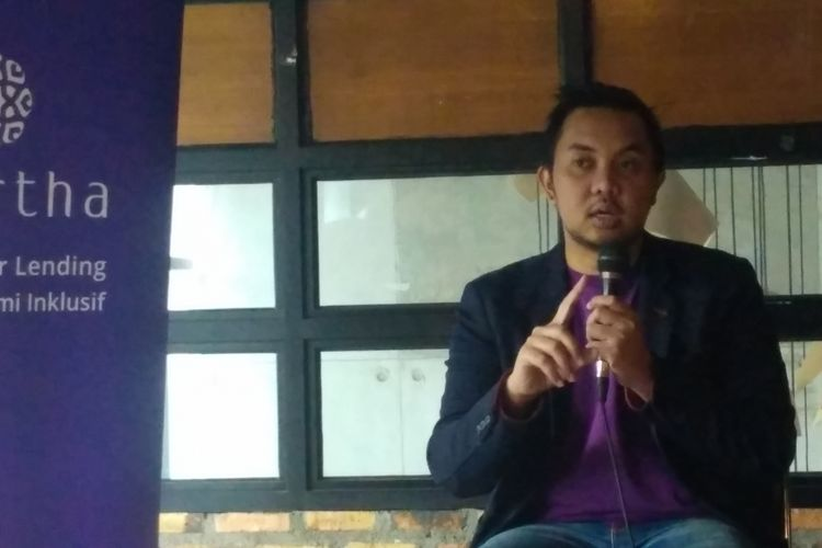 CEO dan Founder Amartha, Andi Taufan Garuda Putra.