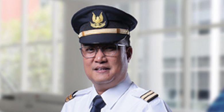 Direktur Human Capital Garuda Indonesia Heri Akhyar