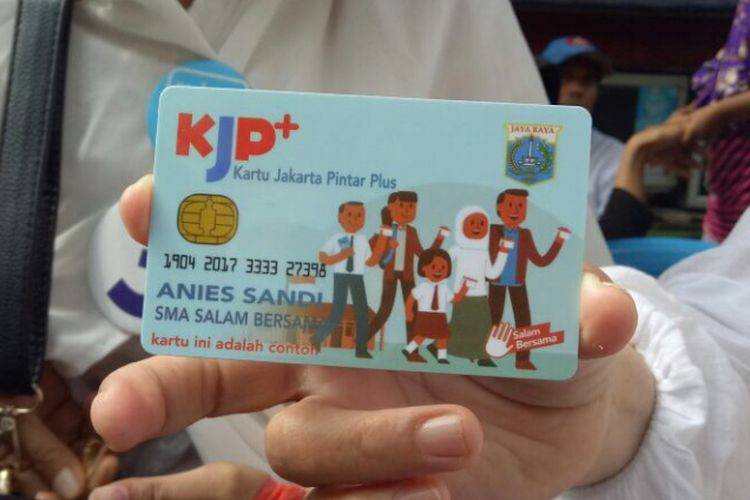 Contoh KJP Plus Anies-Sandi