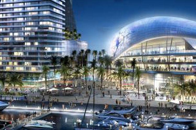 Seperti dilansir Designboom, skema keseluruhan stadion ini akan menghubungkan antara gedung stadion dan plaza di pusat kota Miami melalui jembatan yang saat ini tidak terpakai.