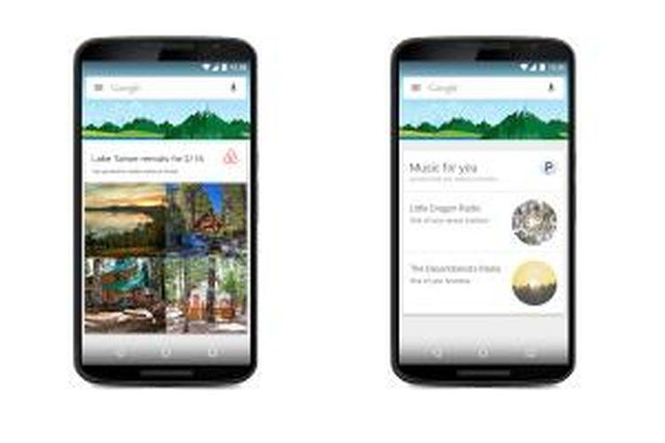 Google Now kini bisa menampilkan informasi dari 40 aplikasi pihak ketiga