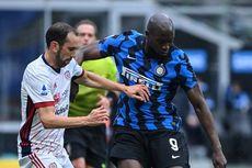 Inter Vs Cagliari, Romelu Lukaku dkk Melempem pada Babak Pertama