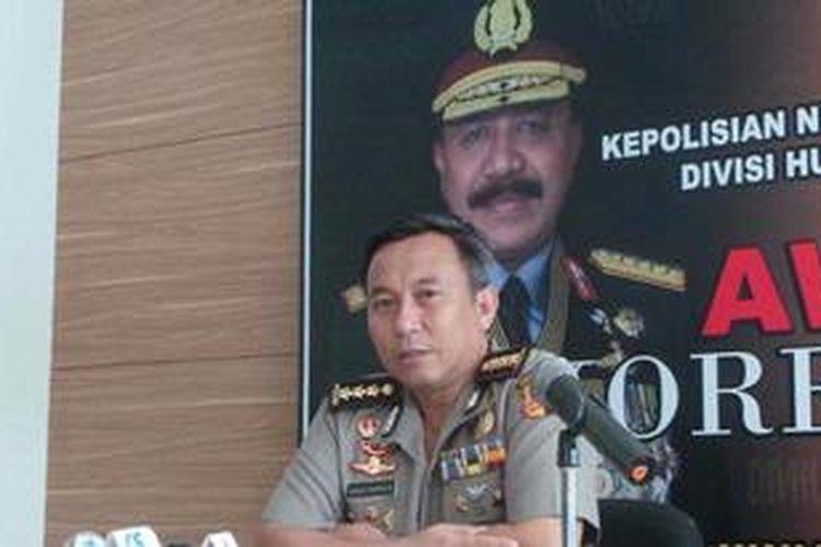 Kepala Bagian Penerangan Umum Polri Komisaris Besar Agus Rianto.