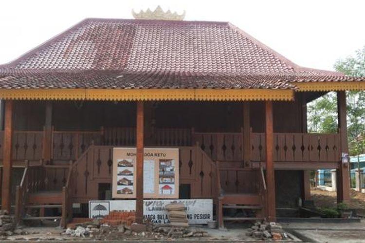Nuwo Sesat, Rumah Adat Provinsi Lampung