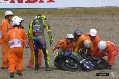 MotoGP Jepang, Terjatuh di Motegi, Valentino Rossi 'Kembali ke Masa Kegelapan'