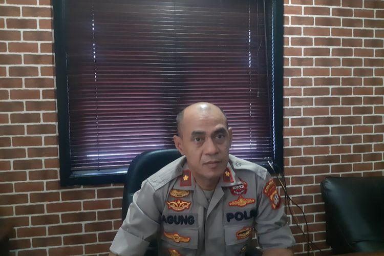 Kapolsek Tanjung Duren Kompol Agung Wibowo di Polsek Tanjung Duren, Jakarta Barat, Sabtu (22/2/2020)