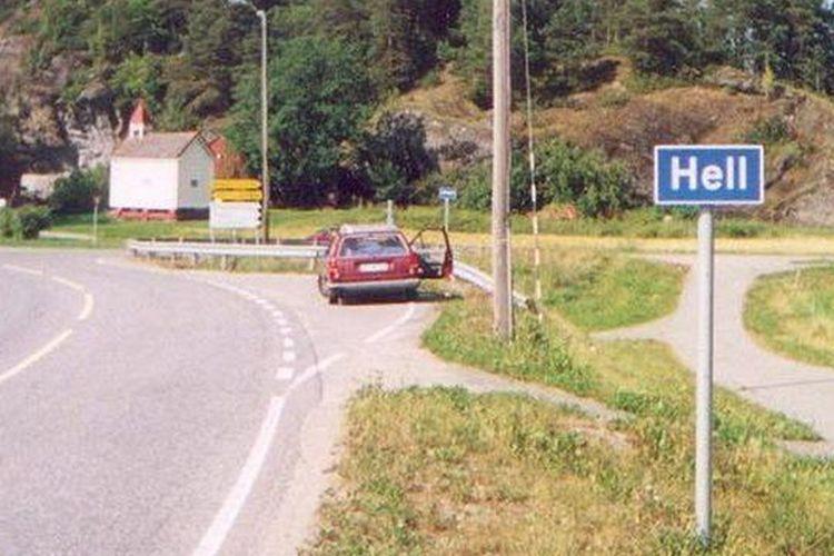 Hell, nama kota yang berlokasi di Norwegia.