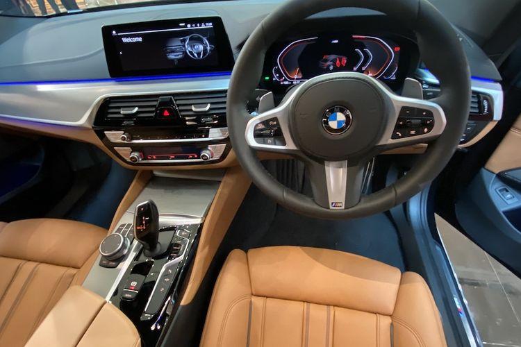 Interior BMW 630i Grand Turismo M