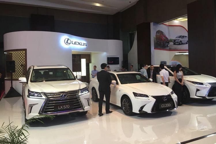 Booth Lexus di GIIAS Medan, Sumatera Utara, 22-26 November 2017