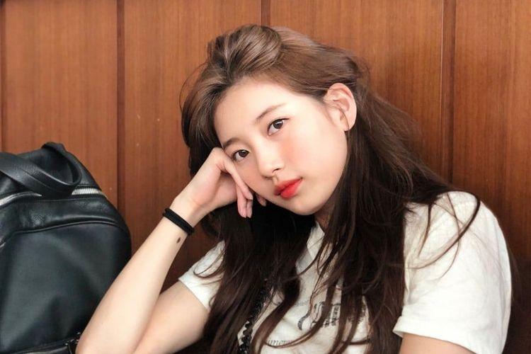 Penyanyi dan aktris asal Korea Selatan Suzy
