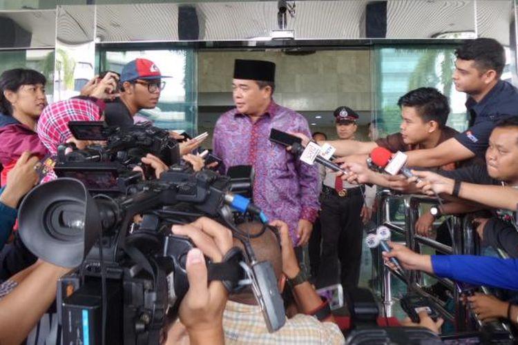 Politisi Partai Golkar Ade Komarudin di Gedung KPK Jakarta, Jumat (3/2/2017).