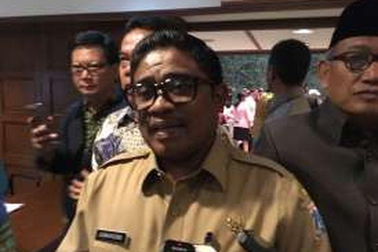 Pelaksana tugas Gubernur DKI Jakarta Sumarsono di Balai Kota DKI Jakarta, Senin (5/12/2016).